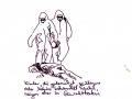 Geschlagen, Serie Auslese 2006-08, A4  Mischtechnik