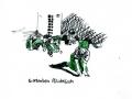 Pflichtfach,  Serie Auslese 2006-08, A4  Mischtechnik